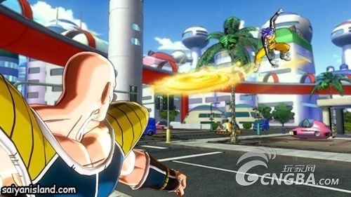PS3《龙珠 超宇宙》战斗舞台场景截图曝光