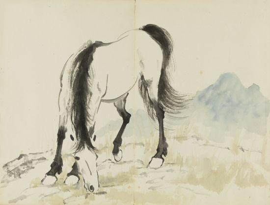 十二生肖之马