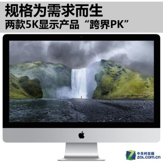 """三星105寸/苹果27 iMac""""跨界PK""""-5K屏大不同 三星105寸 苹果iMac"""