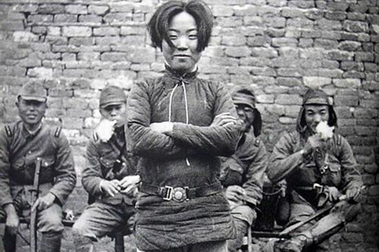 战争中的女人:英勇不屈
