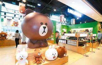 LINE在台湾开专卖店无业绩压力只求用户喜欢