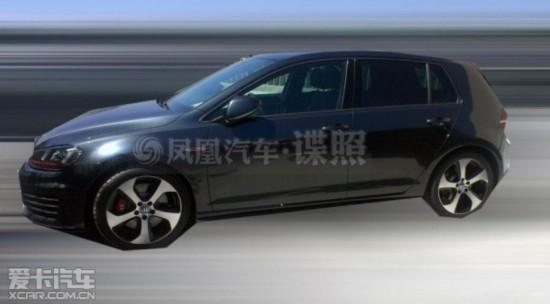 新款高尔夫GTI国内谍照-第七代高尔夫GTI将亮相广州车展 预计售价24