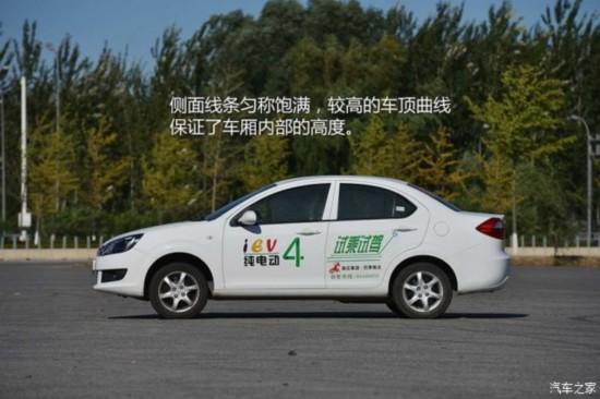 价格挺诱人 测试江淮和悦iev4纯电动车 高清图片