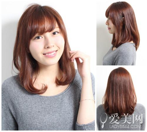 秋季日系最新发型 短发中长发为主