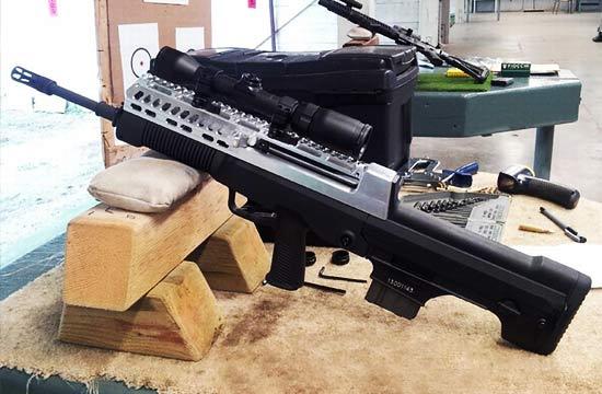 中国03式突击步枪-中国军工制造水平见证 步枪出口后被改用各种用途