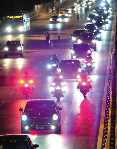中国恢复国宾车队摩托护卫 曾因阻塞交通被取消
