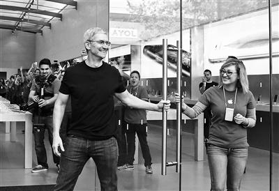 库克本周将访问中国 将在北京与苹果员工交流