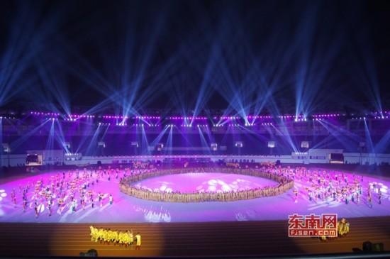 第十五届福建省省运会10月25日在漳州市体育馆开幕,开幕式抢先看