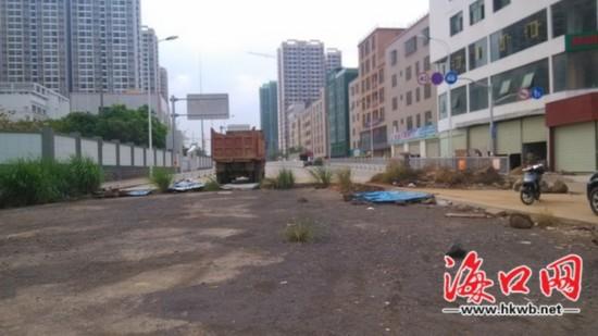 市民抱怨道路中断修复一年多 海口城投回应