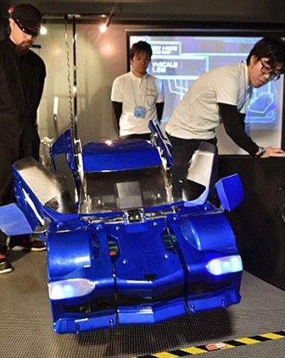 日本公司打造现实版变形金刚 数秒完成变形(组图)