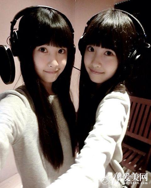 十年前台湾超萌双胞胎姐妹长大 外貌甜美爱跳舞萌翻网友