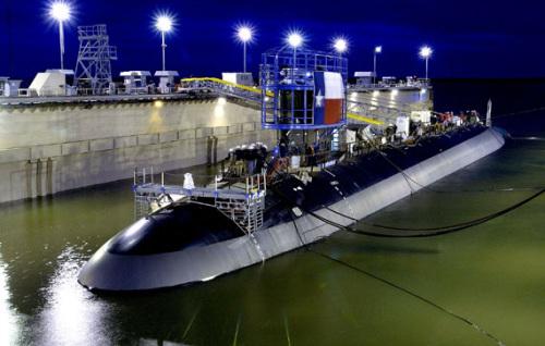 """美国水师""""弗吉尼亚""""级袭击核潜艇。(材料图)"""