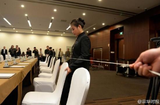镜头实拍APEC服务人员培训