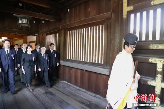 """英媒:日本或想用""""驱灵""""办法解决靖国神社问题"""