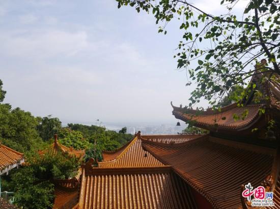 广西行记者游览桂平西山 感受灿烂佛教文化【4】