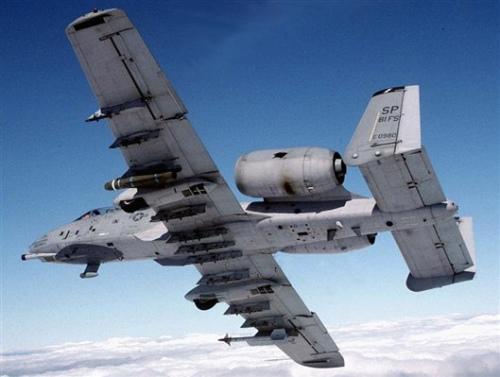 美军A-10攻击机