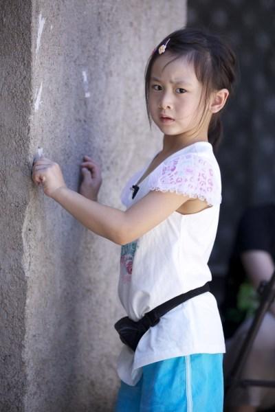 田亮女儿高清图片