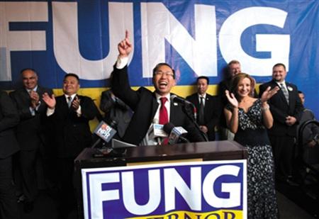 华裔玩转美国选举:奥巴马重视有望再出州长