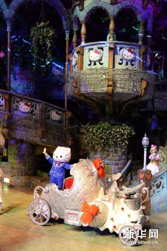 (国际)(1)日本三丽鸥彩虹乐园庆祝凯蒂猫40岁生日