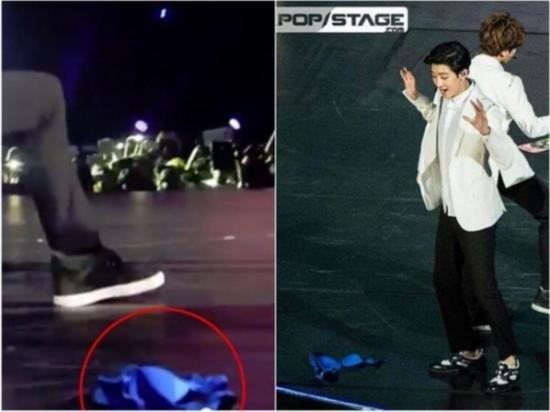 EXO-K、B.A.P墨西哥开唱女粉丝扔内衣遭批(图)