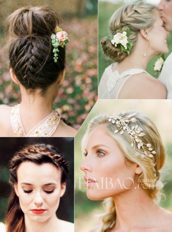 图片来自网络   法式新娘盘发   完美新娘造型少不了精致的发型,一款适合的发型为婚礼上的新娘增添十足魅力。蓬松的发髻优雅而古典、法式盘发浪漫十足搭配着精美的配饰,打造了经典的法式新娘。随意的盘发令新娘散发出一丝慵懒的气息,不刻意之间尽显迷人魅力。简约优雅的感觉也有另一番滋味,干净利落的古典风格令人为之倾倒。散落在一侧的发辫带来了华丽之感,搭配着浪漫的发饰,闪耀着法式新娘别具风格的浪漫气息。 编辑:admin