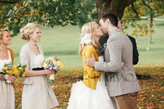 秋季婚礼新娘必备