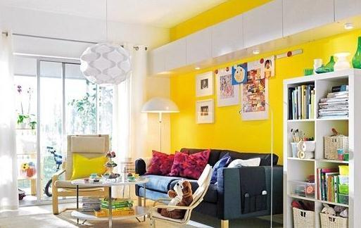 活力黄色装饰时髦家 让空间跟上秋冬的节奏