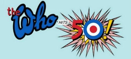 The Who 50周年纪念演出海报。