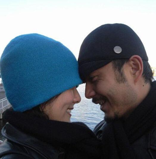 汪涵与妻子