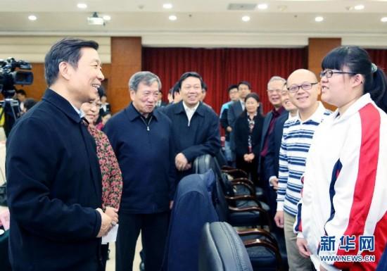 (新华网)李源潮在北京与科普创作工作者代表座谈