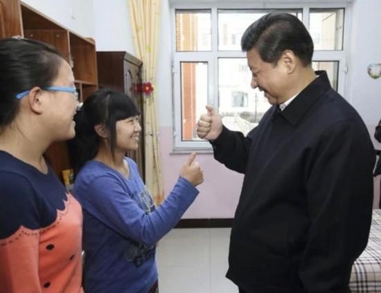 向聋哑女孩学习哑语谢谢