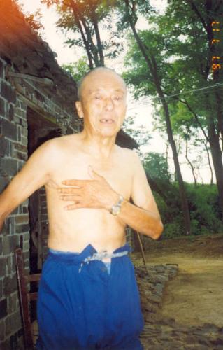 南京大屠杀幸存者许圣富