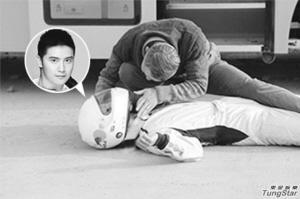 田亮否认拍摄中遇车祸 节目组被指炒作