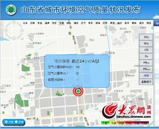 北京APEC期间滨州限产限行 空气质量2优4良