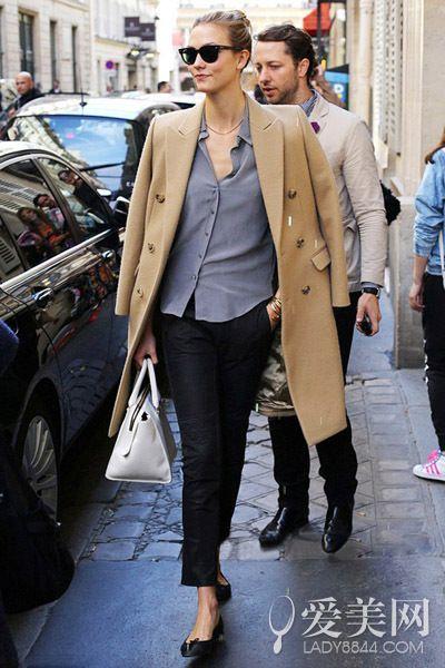 大衣穿搭法 打造欧美范儿