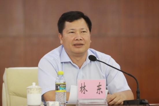 中共海南省委决定林东同志任昌江县委书记