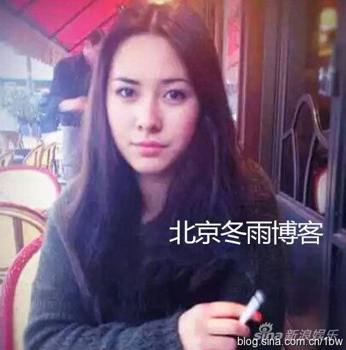 姜文20岁混血女儿姜一郎近照曝光 美颜惊人