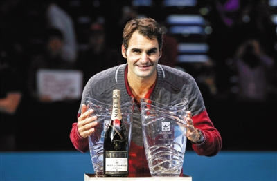 ATP年终总决赛费德勒迎开门红一日获两奖(图)