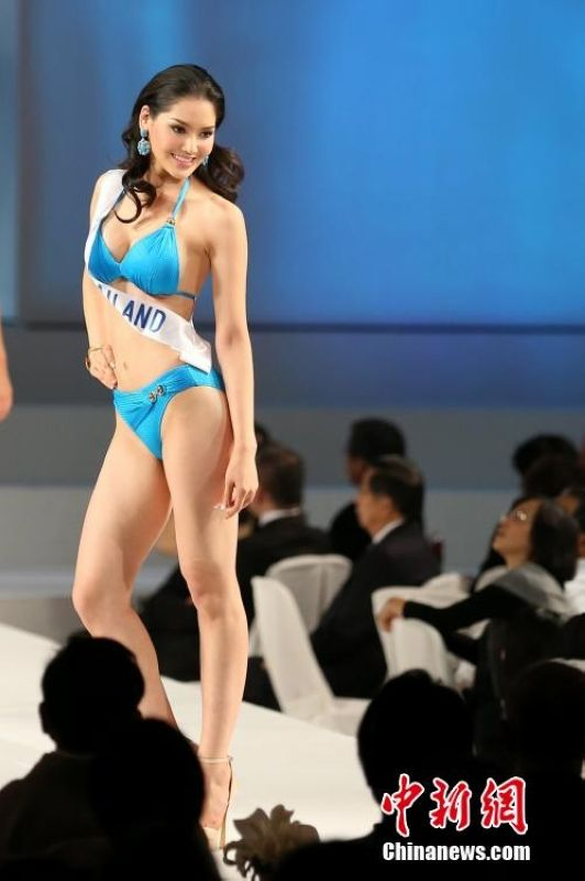 世界三大女子选美赛事之一的2014国际小姐选美大赛