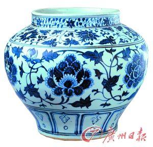 元青花瓷最初不似日用品或是贸易品