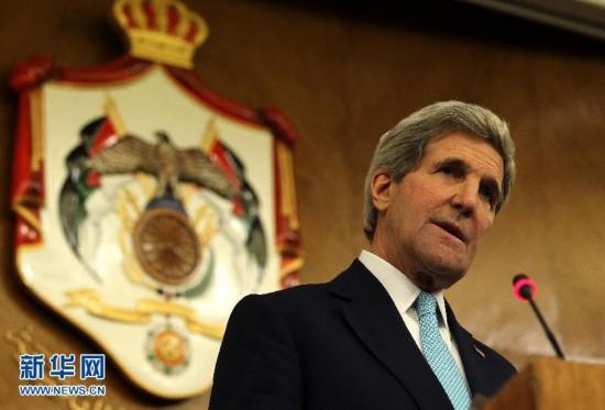 美国国务卿克里见约旦总理和以色列国王【图苹果汁榨视频图片