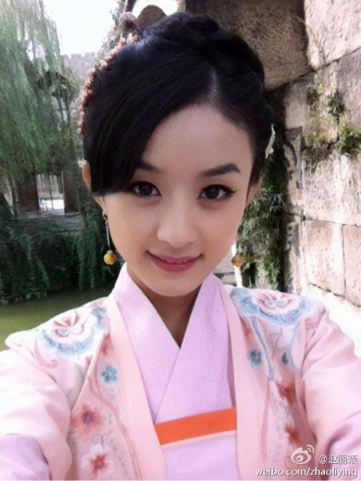蓉赵丽颖袁姗姗 潜力无限的二三线美女明星