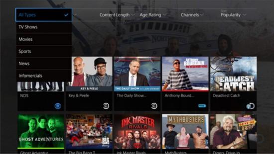 索尼推出云电视服务PlayStation Vue
