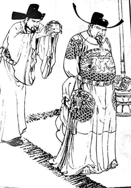 王弘力绘制的连环画《十五贯》原稿。