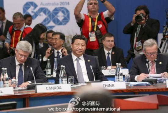 习近平:二十国要继续做全球自由贸易旗手