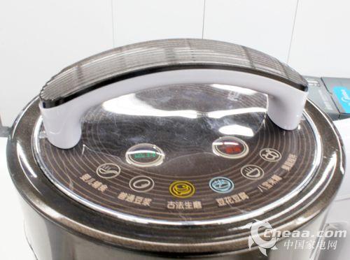 美的豆浆机操作界面图片