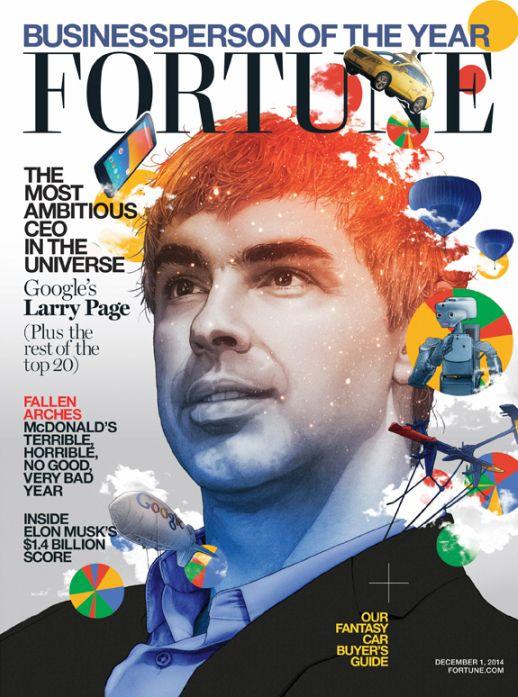 谷歌CEO佩奇当选《财富》年度商业人物