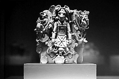玛雅文明首次亮相国博:烫发整形纹身早已存在