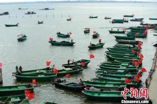 海南无偿供120艘渔船助重灾区渔民恢复生产