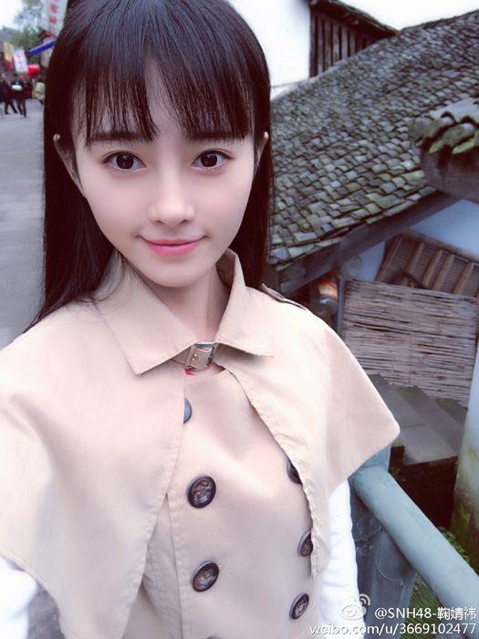 日媒评选中国第一美女 鞠婧祎夺冠图